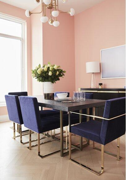 Glam Dining Room Design