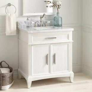 Immingham 30 Single Sink Bathroom Vanity Set With Mirror By Brayden Studio Reviews 30 Inch Bathroom Vanities Home Outdoor