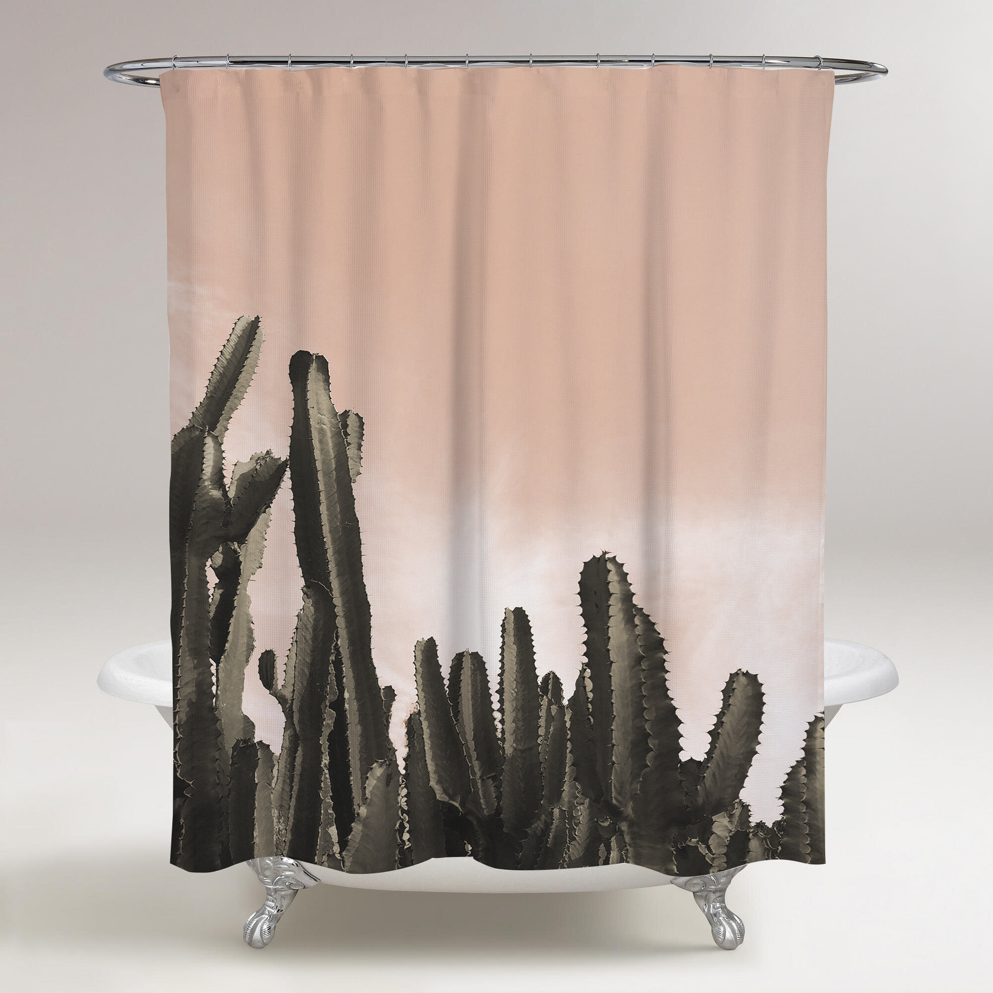 Foundry Select Espey Cactus Single Shower Curtain Wayfair