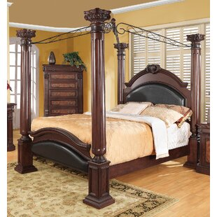 Astoria Grand Fechteler Upholstered Canopy Bed