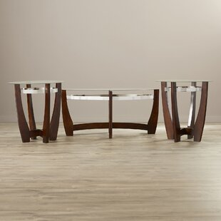 Collum 3 Piece Coffee Table Set