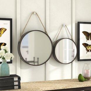 2 Piece Wall Mirror Sets Wayfair