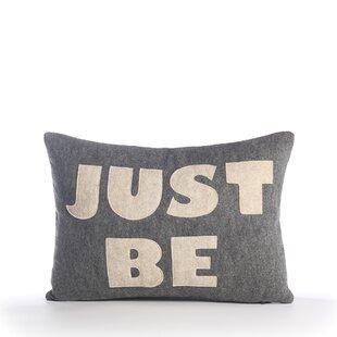Zen Master Just Be Throw Pillow by Alexandra Ferguson