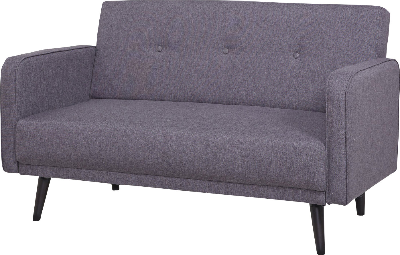 modern collections loveseat light futon fabric linen g products grey tufted love mid seat sofa century sofas