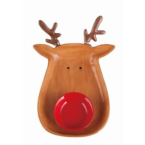 Reindeer Chip and Dip Platter