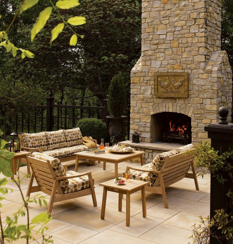 Oxford Garden Siena Club Chair with Deep Seat Cushions Reviews