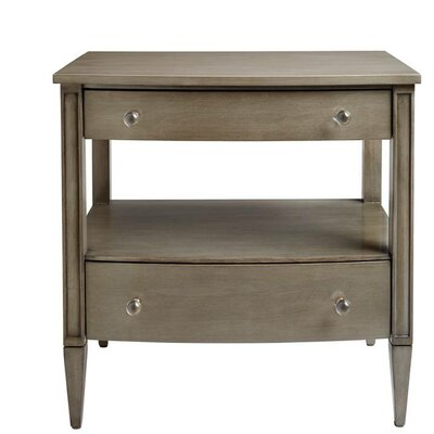 2 Drawer Nightstand Color: Gray Birch by Stone  and  Leigh Furniture