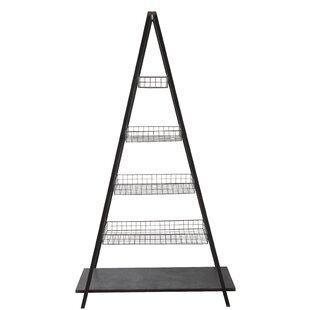 Maranda Metal 5-Tier Ladder Bookcase by Gracie Oaks