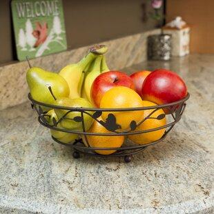 Bird and Flower Fruit Basket