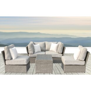 Simmerman 5 Piece Sectional Set with Cushions