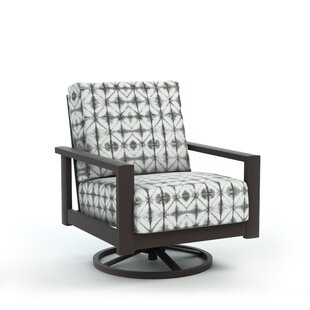 Winfred Swivel Patio Chair with Cushion
