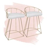 Cortez 25.75 Counter Stool (Set of 2) by Foundstone™