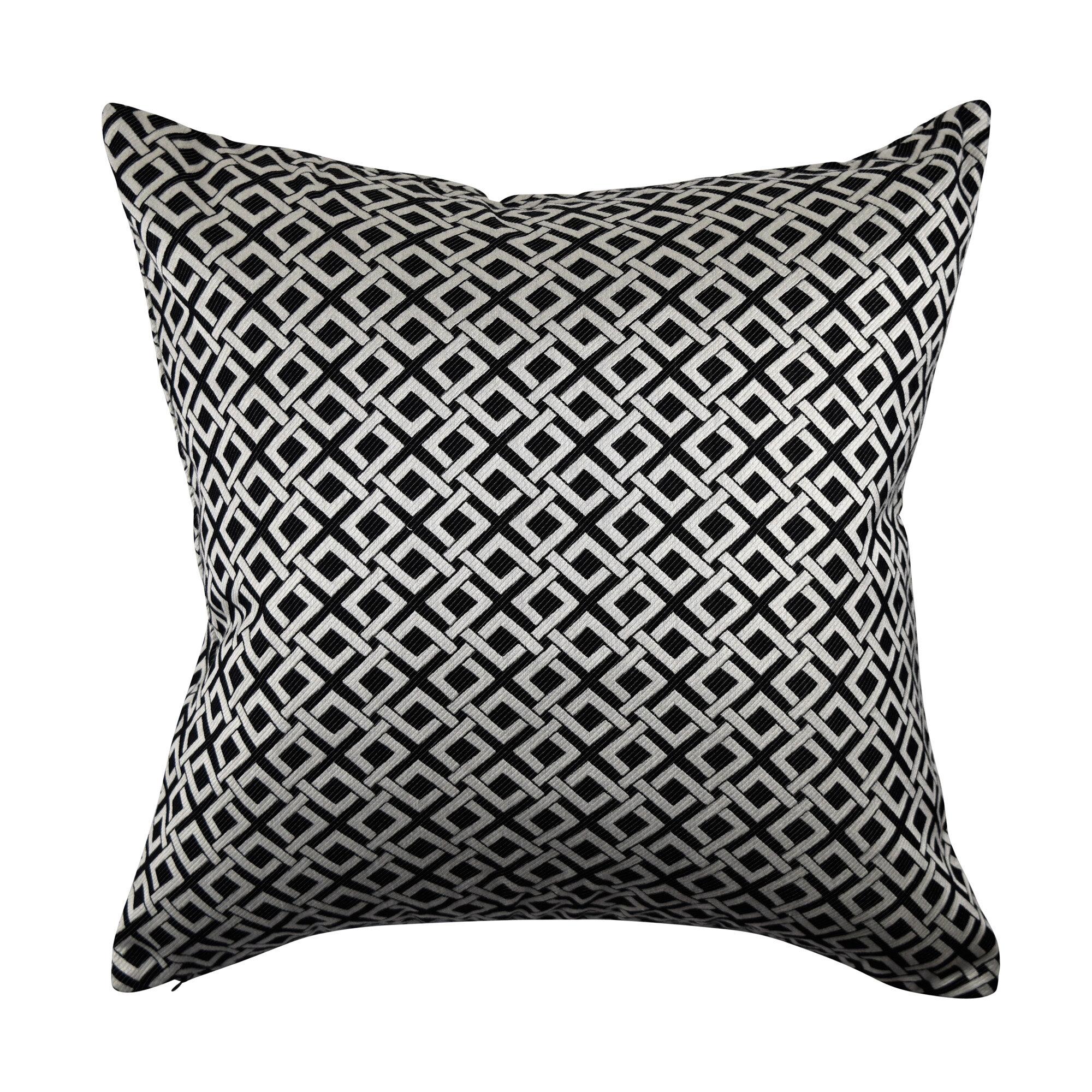 Vesper Lane Lillian August Home Geometric Link Throw Pillow Wayfair