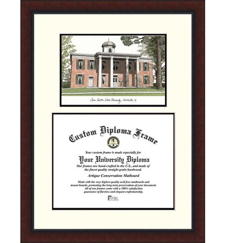 Campus Images NCAA Legacy Scholar Diploma Picture Frame   Wayfair