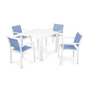 POLYWOOD® Bayline™ 5 Piece Dining Set