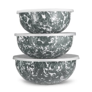 Gadberry 3 Piece Mixing Bowl Set