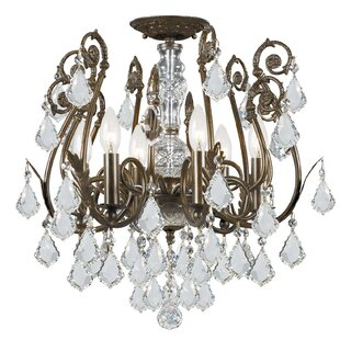 House of Hampton Axton 6-Light Semi Flush Mount