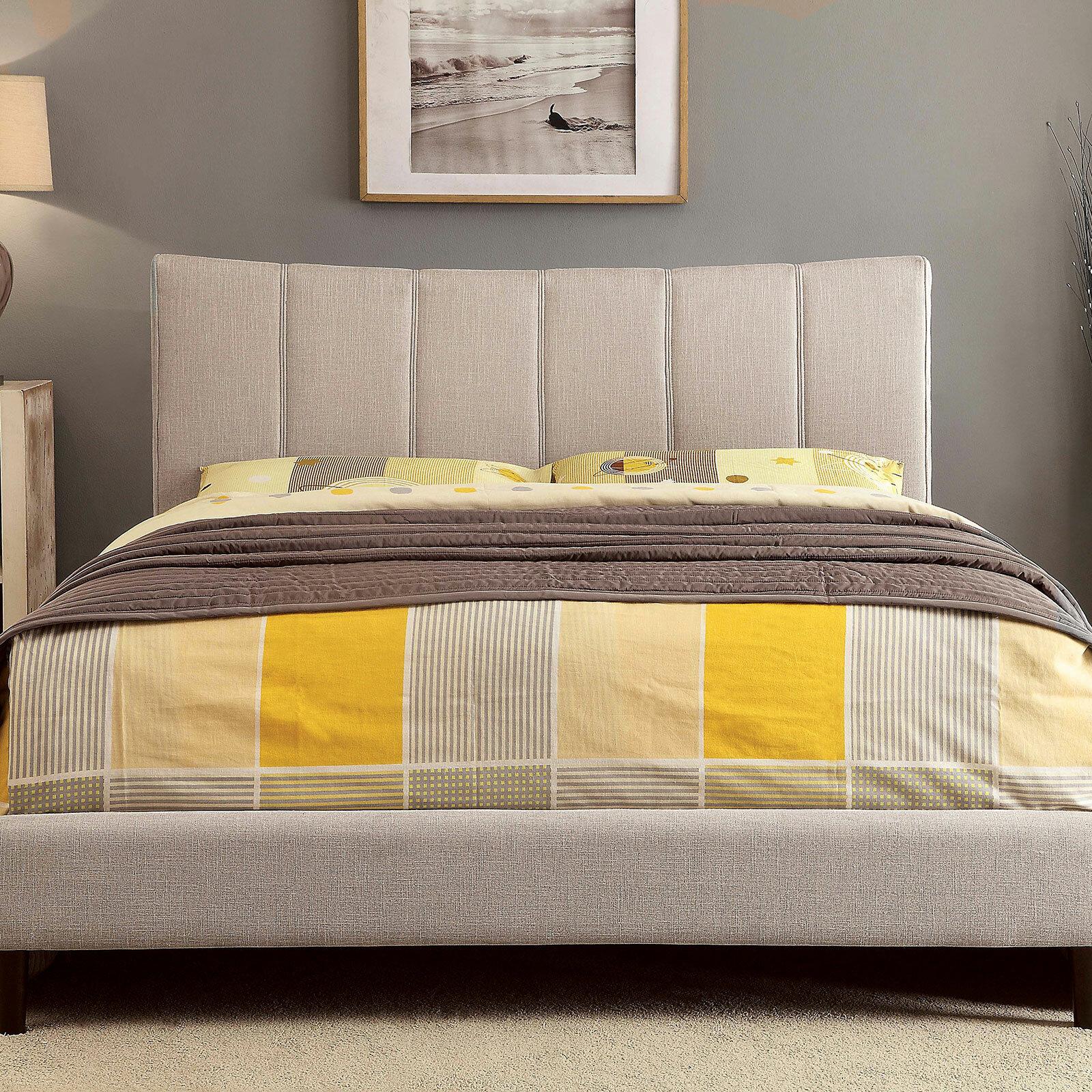 Ivy Bronx Kesha Upholstered Platform Bed