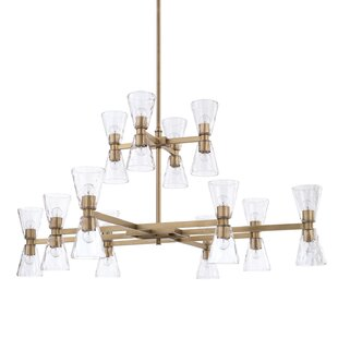 Brayden Studio Girard 24-Light Sputnik Chandelier