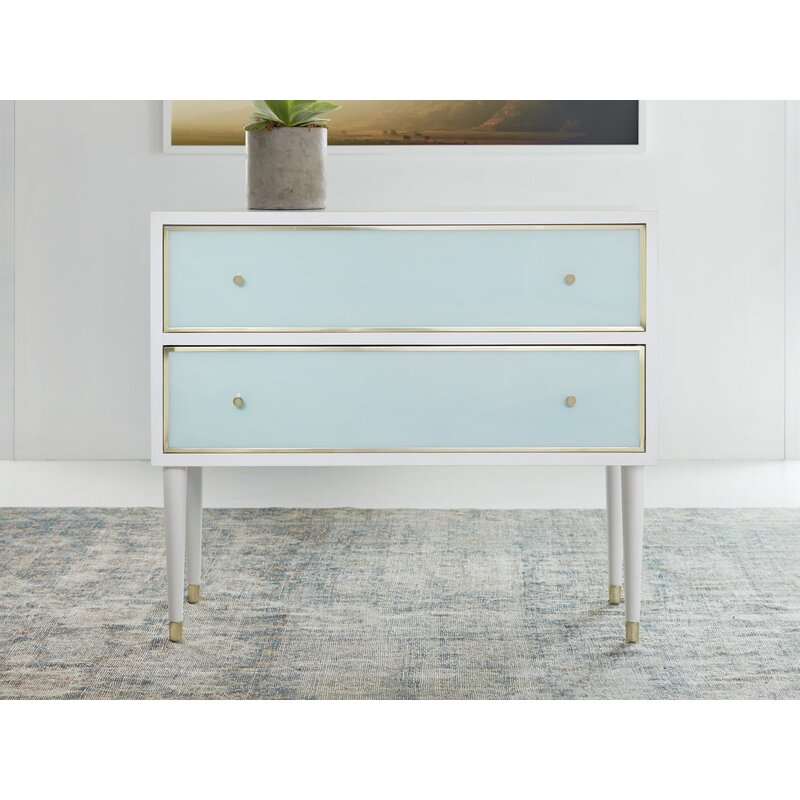 Modernhistory 2 Drawer Dresser Wayfair