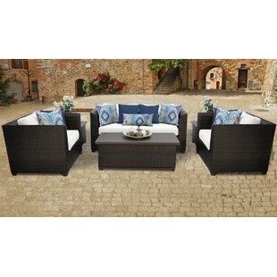 TK Classics Barbados 7 Piece Sofa Set with Cushions