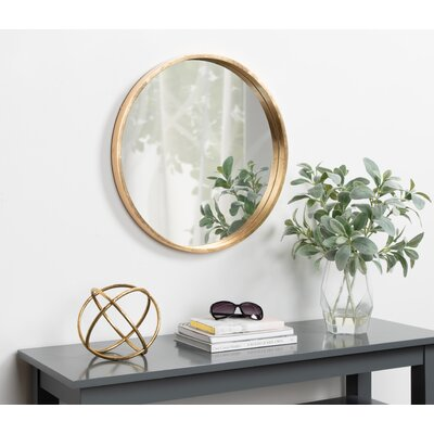 Round Gold Mirror Joss Amp Main