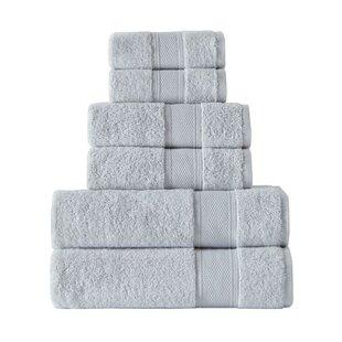 Hamish 6 Piece Turkish Cotton Towel Set