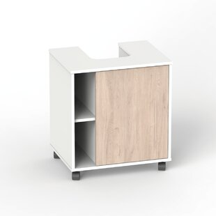 Dev 59cm Free-Standing Vanity Unit Base By Ebern Designs