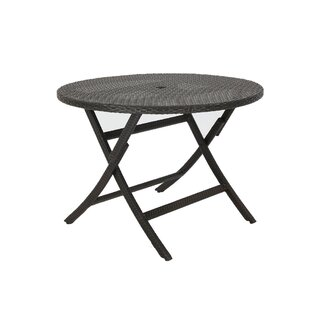Karn Extendable Wicker Bistro Table