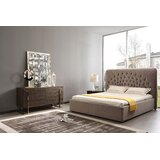 Kachig King Upholstered Platform Bed by Red Barrel Studio®