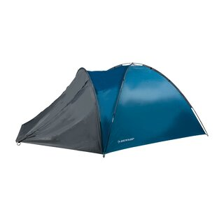 Dunlop Dome Tent Double 210 X 150 X 120 Cm Blue By Edco