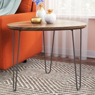 Schell End Table by Wrought Studio