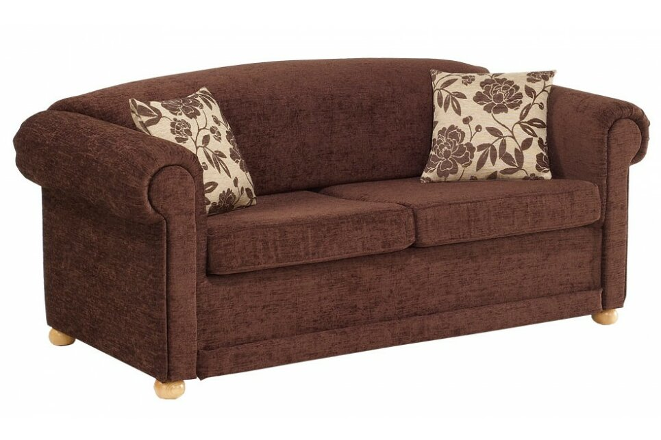 Moderne Chesterfield Banken : Churchfield chesterfield seater fold out sofa bed wayfair