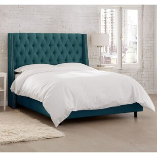 Coraline Upholstered Panel Bed