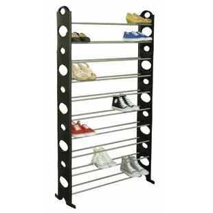 Great choice 10-Tier 50 Pair Shoe Rack By Sunbeam
