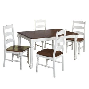 Fleurance 5 Piece Dining Set by August Gr..