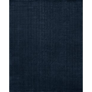 Handwoven Blue Area Rug by Wildon Home ?
