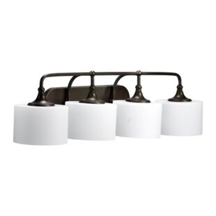 Best Heyworth 4-Light Vanity Light By Three Posts