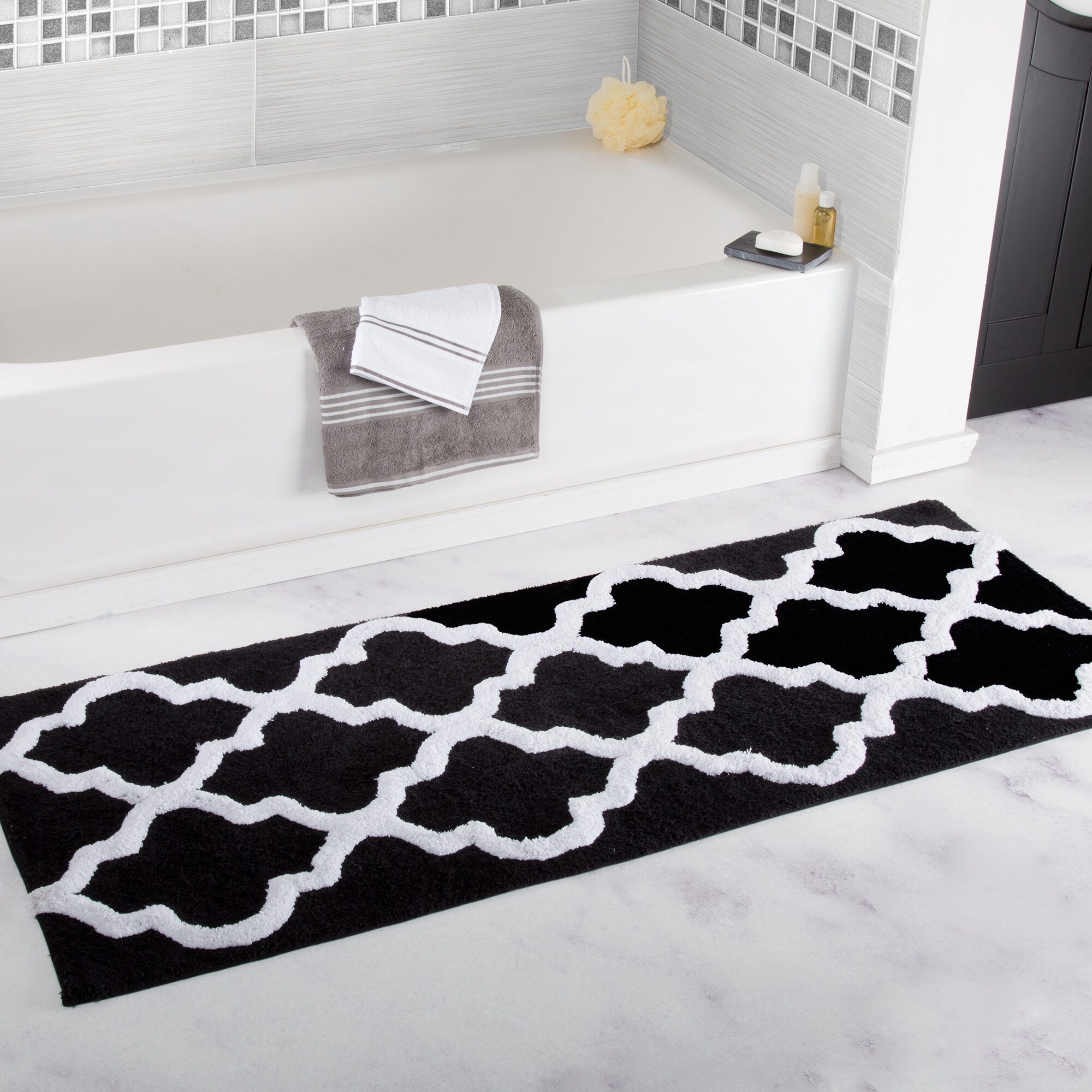 Fancy Collection 3 Pc Bath Rug Set Memory Foam Non-Slip Bathroom Rug Contour Mat And Toilet Lid Cover Solid Coffee//Brown New