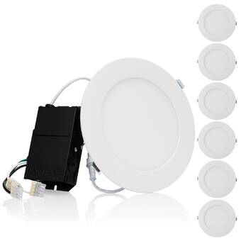Torchstar 3 Led Slim Profile Recessed Lighting Kit Wayfair