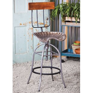 Taggart Adjustable Height Bar Stool 17 Stories