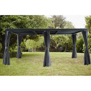 Ramsha 3m X 5.5m Aluminium Patio Gazebo By Sol 72 Outdoor