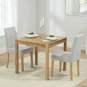rory dining set with 2 chairs - 2 Seater Dining Table Set