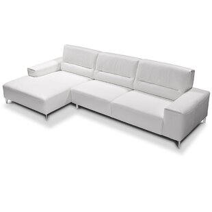 Castiglia Leather Sectional by Castello New Design