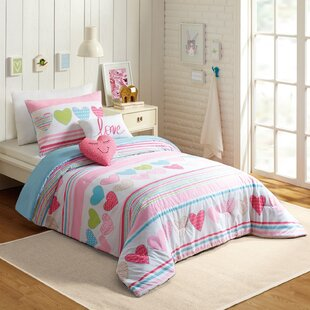 Glen 5 Piece Comforter Set by Harriet Bee Savings