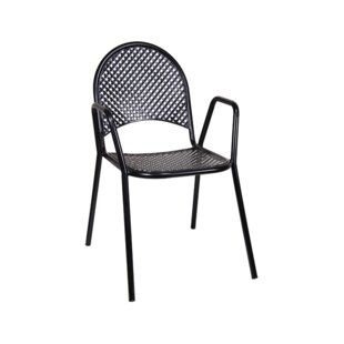 H&D Restaurant Supply, Inc. Stacking Patio Dining Chair (Set of 2)