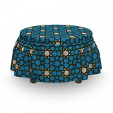 Bohemian Culture Stars Ottoman Slipcover (Set of 2) by East Urban Home