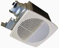 Big Save 100 CFM Energy Star Bathroom Fan with Light/Nightlight By Aero Pure