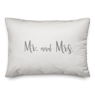 Parque Mr. & Mrs. Throw Pillow