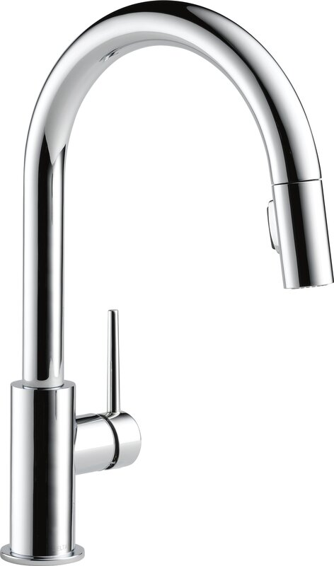 Delicieux Trinsic Pull Down Single Handle Kitchen Faucet With MagnaTite® Docking And  Diamond Seal Technology